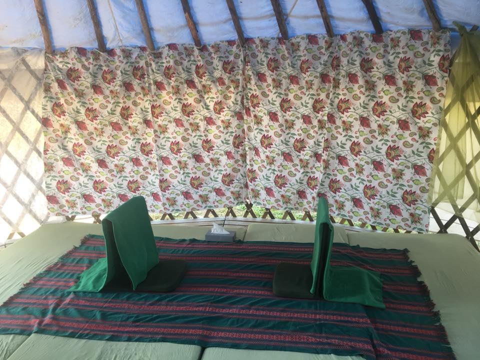 empathy tent sitting place, 07.2018